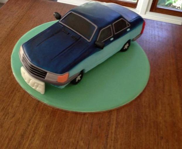 A Car Cake