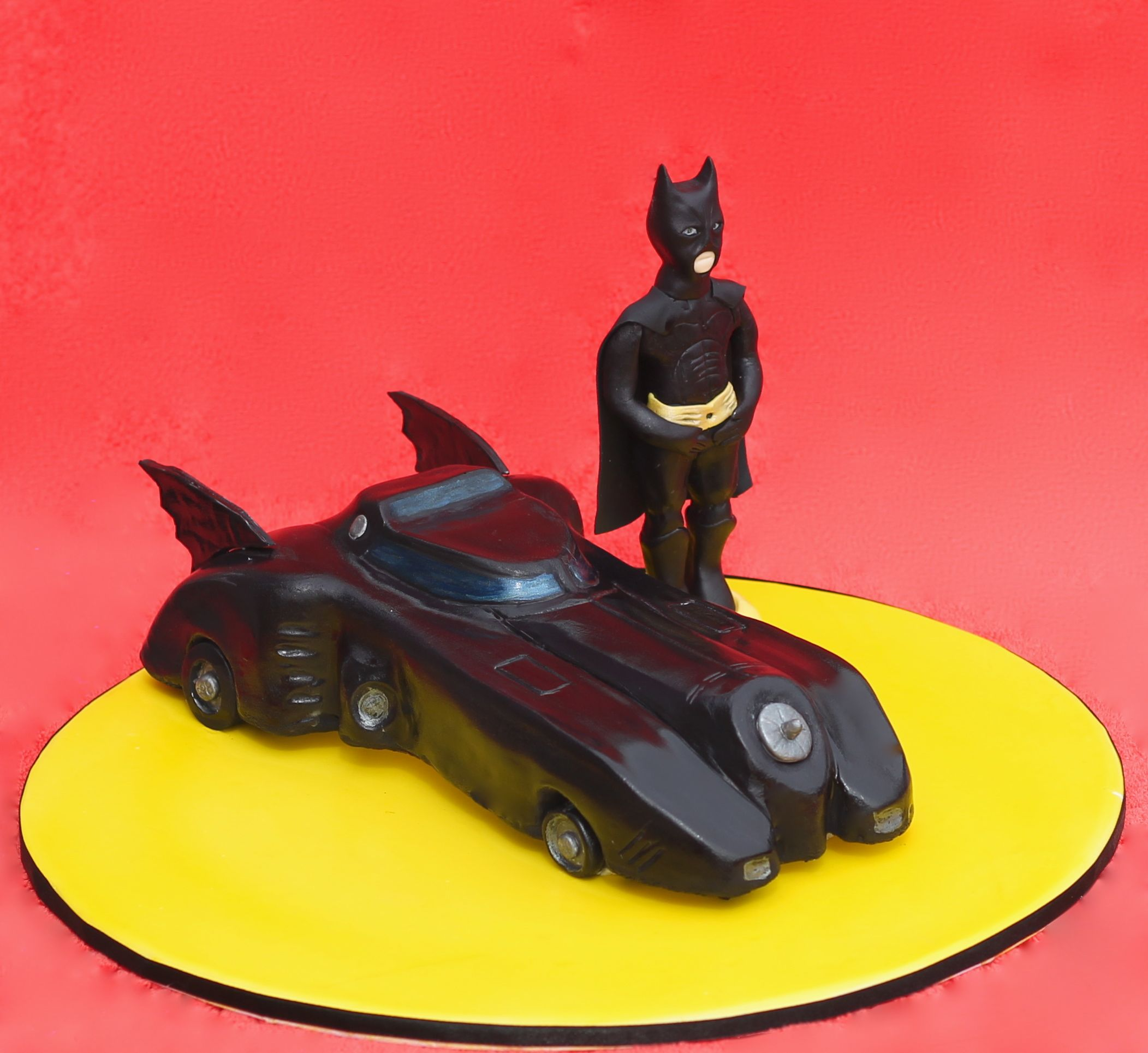 Superhero Cake – Batmobile